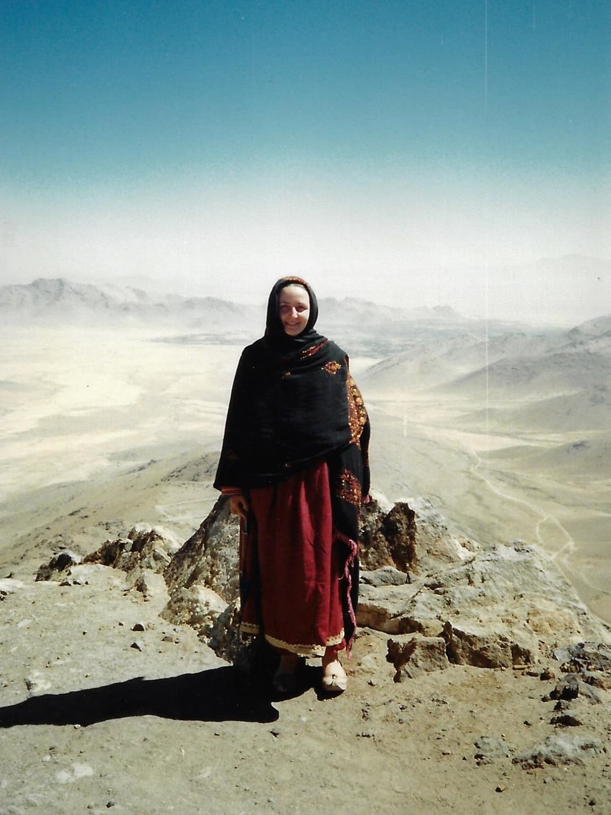 Mariam Abou Zahab in southern Afghanistan during the mid-1980s