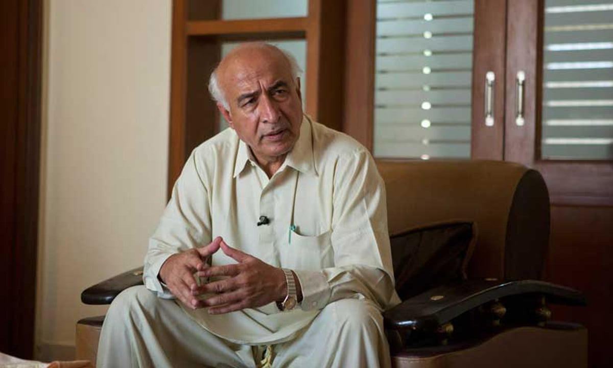 Former chief minister and NP leader Dr Abdul Malik Baloch.—Reuters