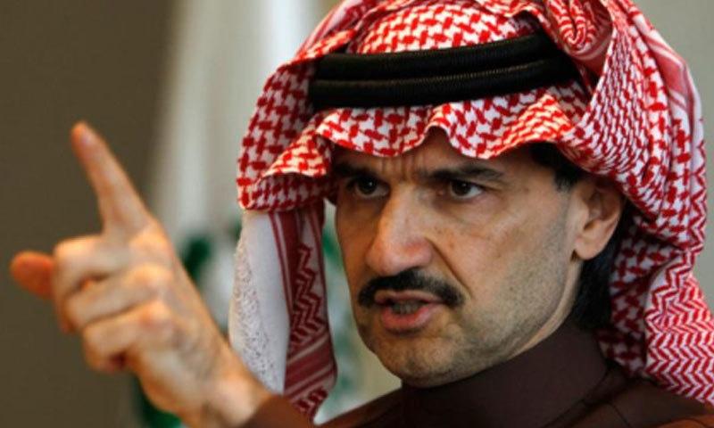 شہزادہ طلال بن ولید دنیا کے 50 امیر ترین افراد میں سے ایک ہیں — فائل فوٹو