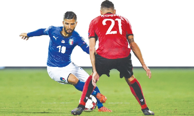 Italy's Lorenzo Insigne, one of the best attacking players in the world, will not be featuring at the World Cup