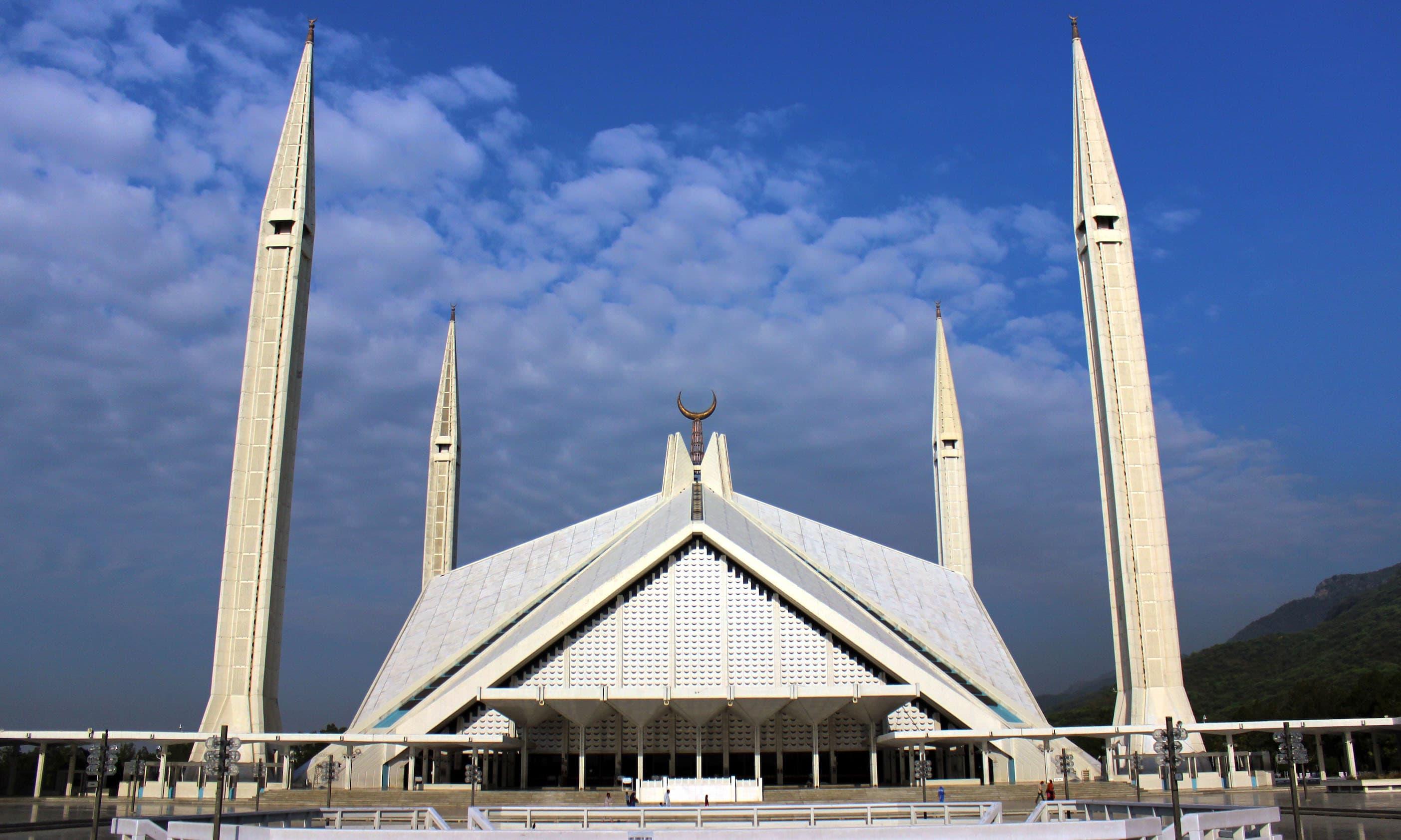 Faisal Mosque — Azhar