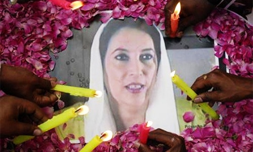 Who killed Benazir Bhutto?