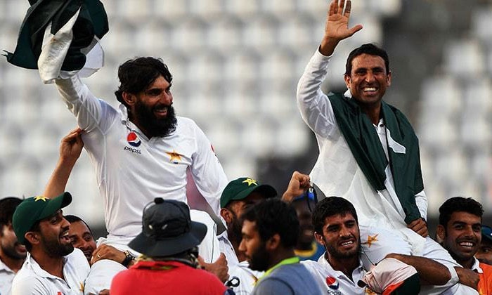 Misbah and Younis given a hero's farewell.—File