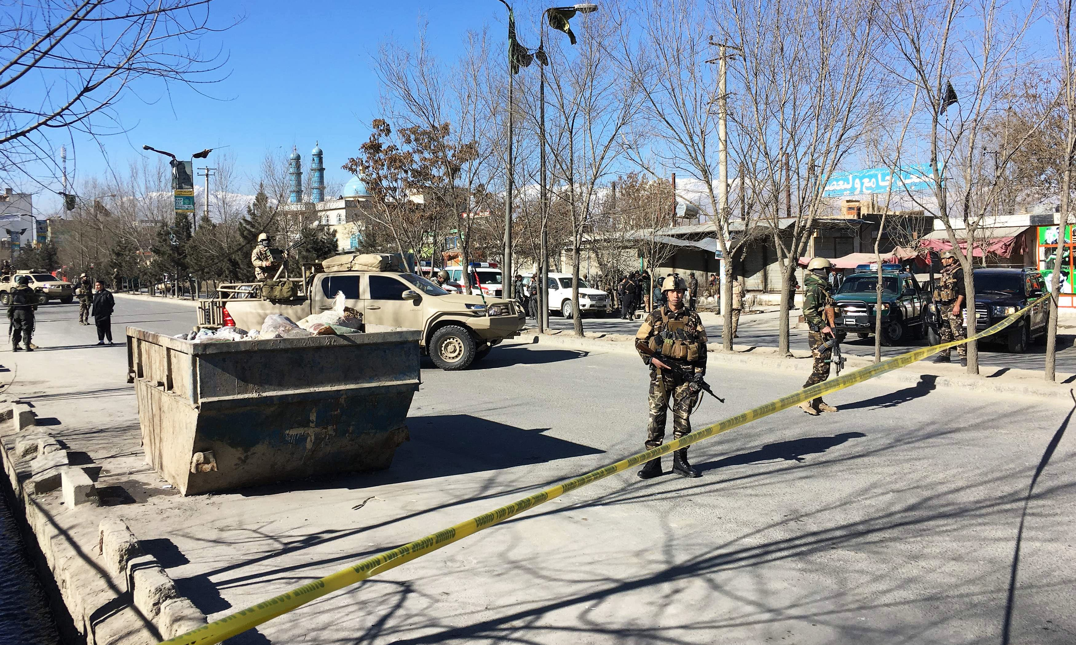 At least 40 killed in attack on cultural centre in Kabul