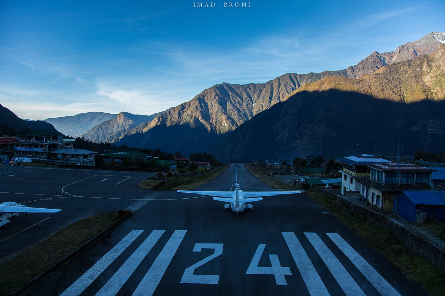 The Tenzing-Hillary Airport, Lukla.