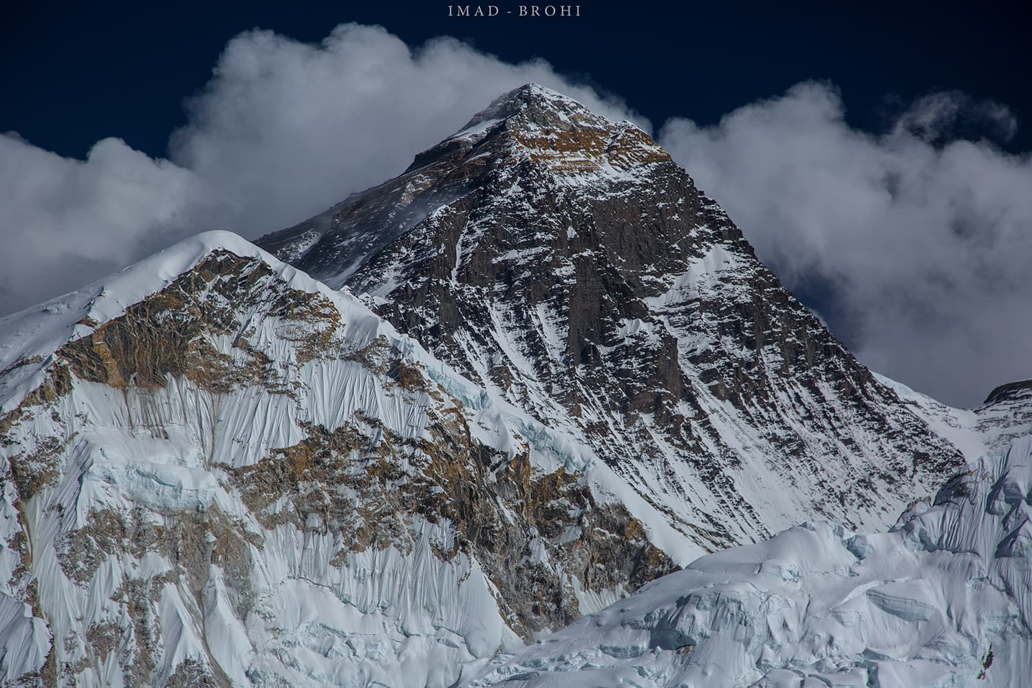 Day 10: Everest summit (8,848m) from Kala Pathar.