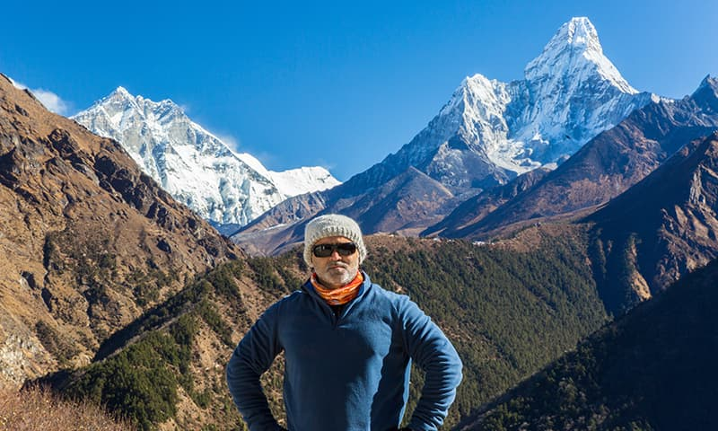 How my love for the mountains took me from Hyderabad all the way to Everest Base Camp