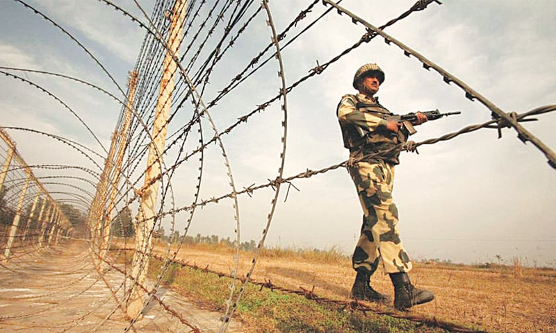 Indian security along the LoC in India-held Jammu & Kashmir | Reuters
