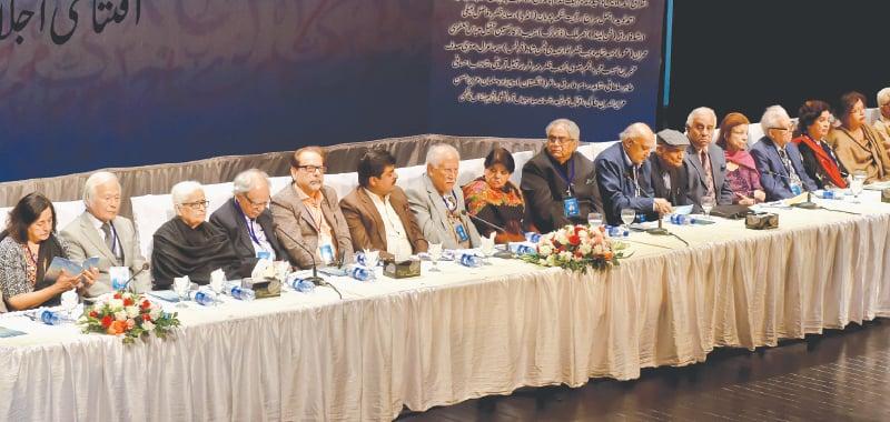 Delegates at the 10th International Urdu Conference