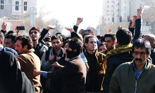 Iranian govt warns against more 'illegal' protests