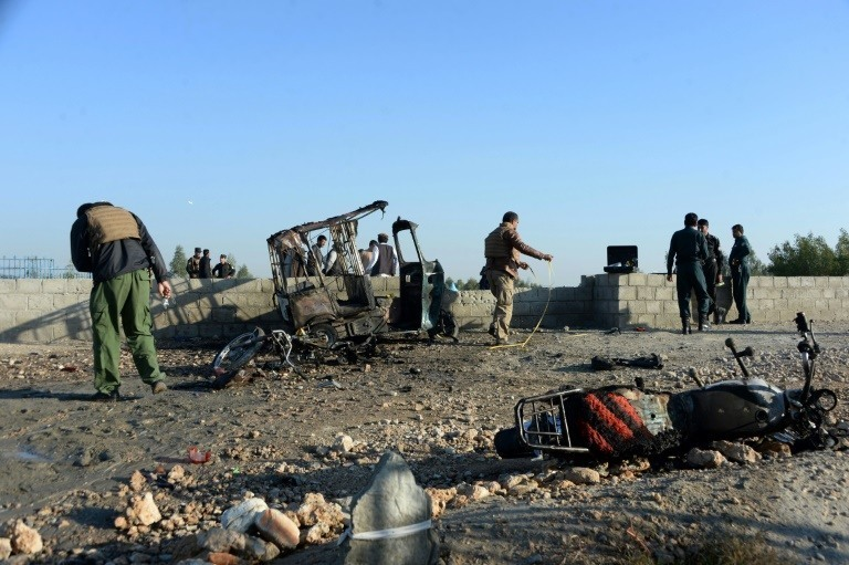 18 dead in suicide attack at former governor's funeral in Afghanistan: officials