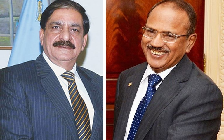 Pakistan, India NSAs hold secret dialogue