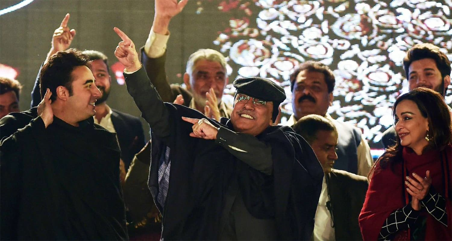 PPP may have had a song-and-dance existence in Sindh for a decade, but it has a string of fresh challenges to face in its own bastion.— AFP