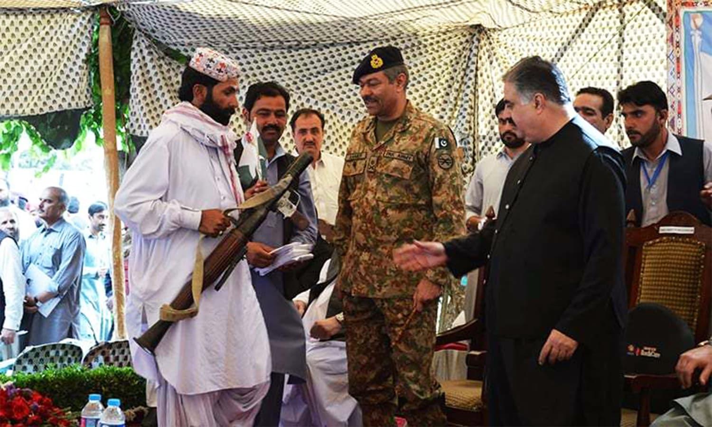 Much has been made of Baloch insurgents surrendering their arms, but public displays often evoke more scepticism than belief.— Asmatullah Kakar
