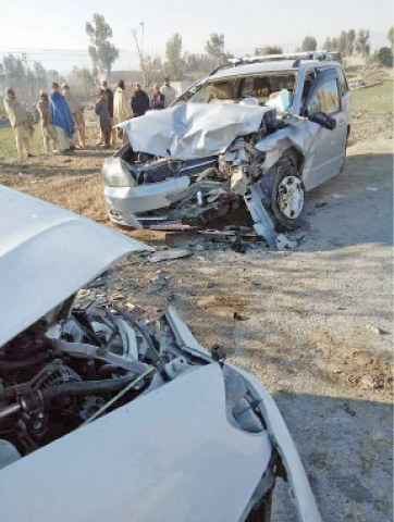 One killed, six injured in road accident