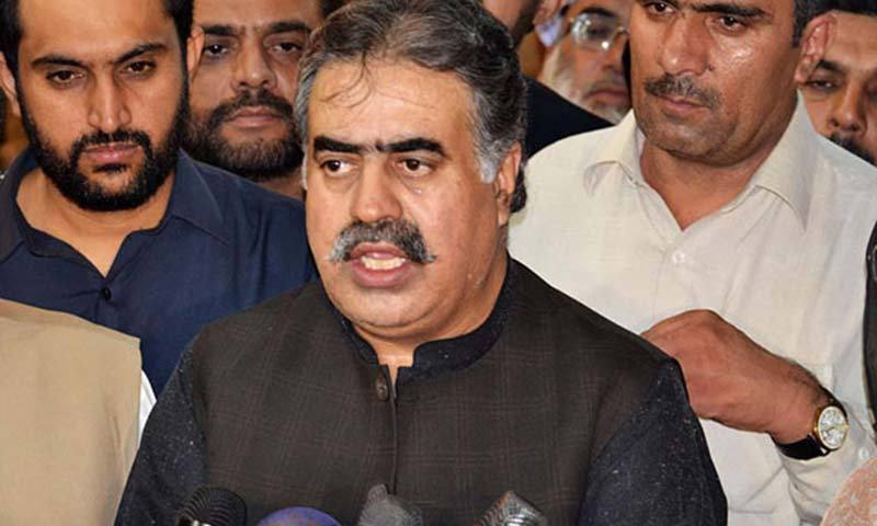 Opposition submits no-confidence motion against CM Balochistan Sanaullah Zehri