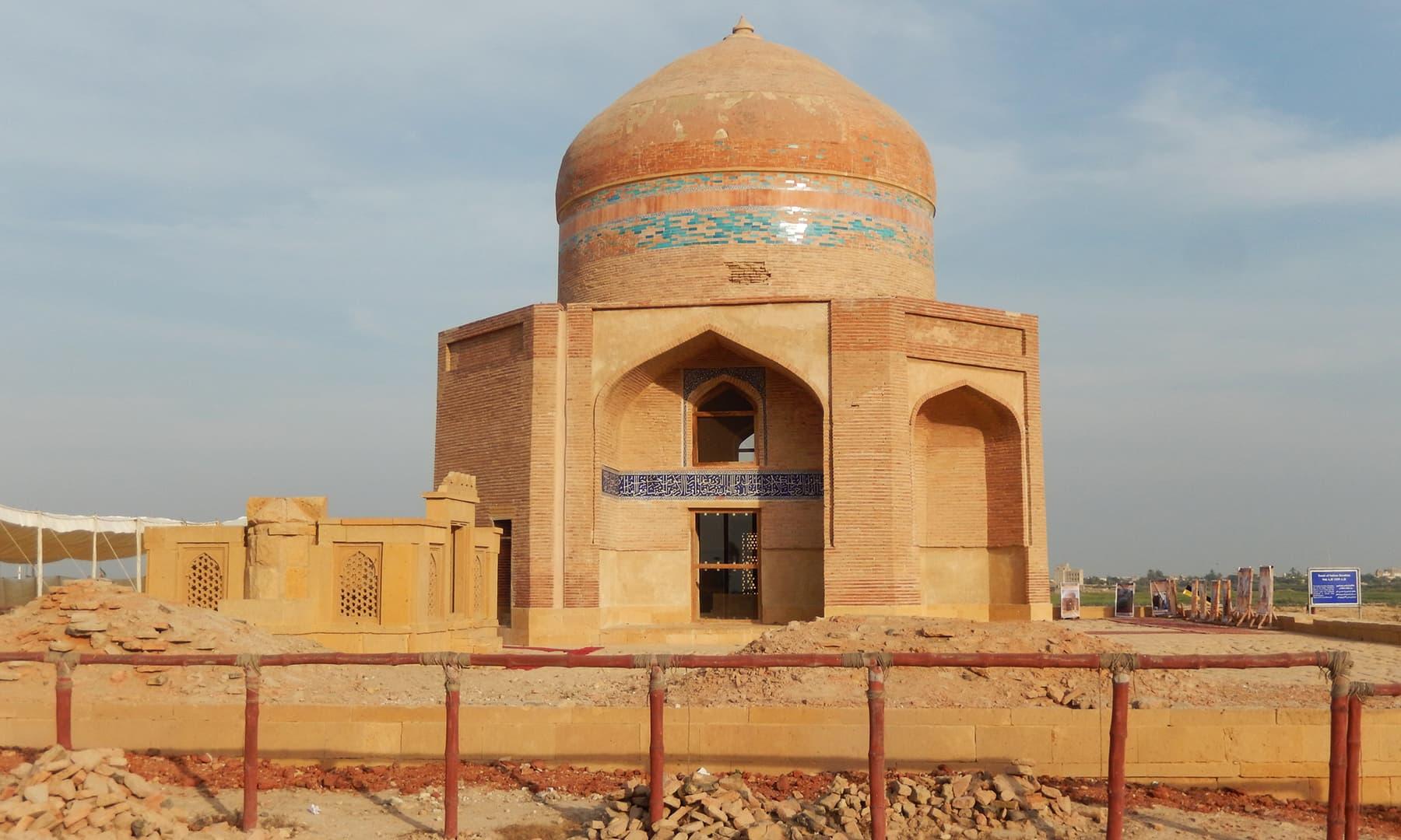 امیر سلطان بیگ کا مقبرہ —تصویر ابوبکر شیخ