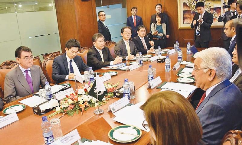 Pakistan, Japan pledge to reinvigorate ties