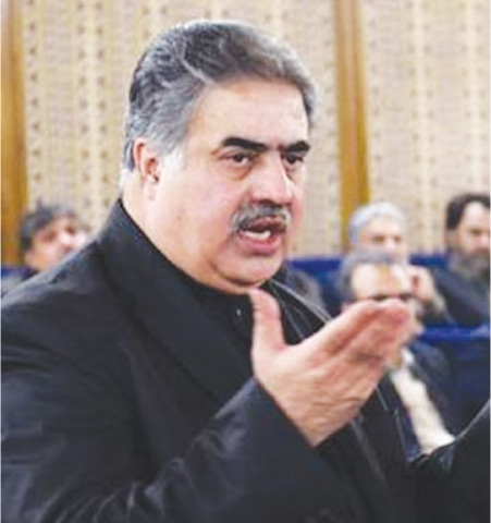 SANAULLAH Zehri is said to have been caught between the devil and the deep blue sea; he cannot afford to anger the establishment, neither does he want to face the ire of Nawaz Sharif.