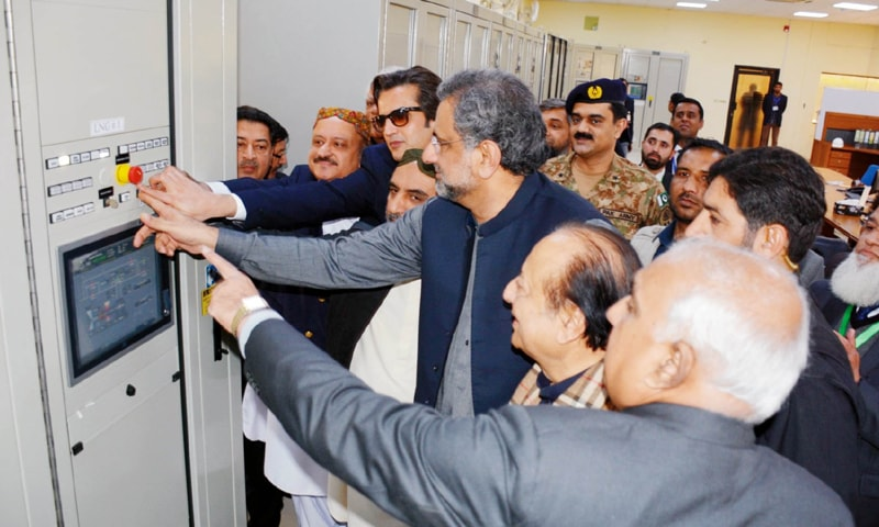 Abbasi promises two million gas connections by June