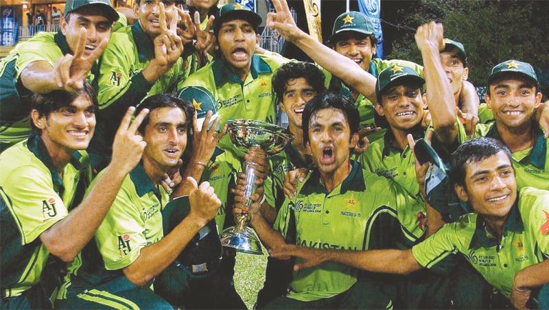 سرفراز احمد کی کپتانی میں ورلڈ کپ جیتنے والی ٹیم
