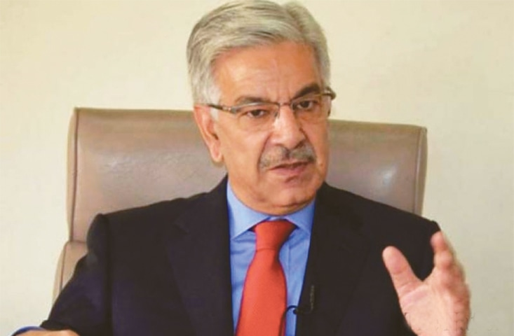KHAWAJA Asif says Pakistan will not allow the Afghan war to be fought on its soil.