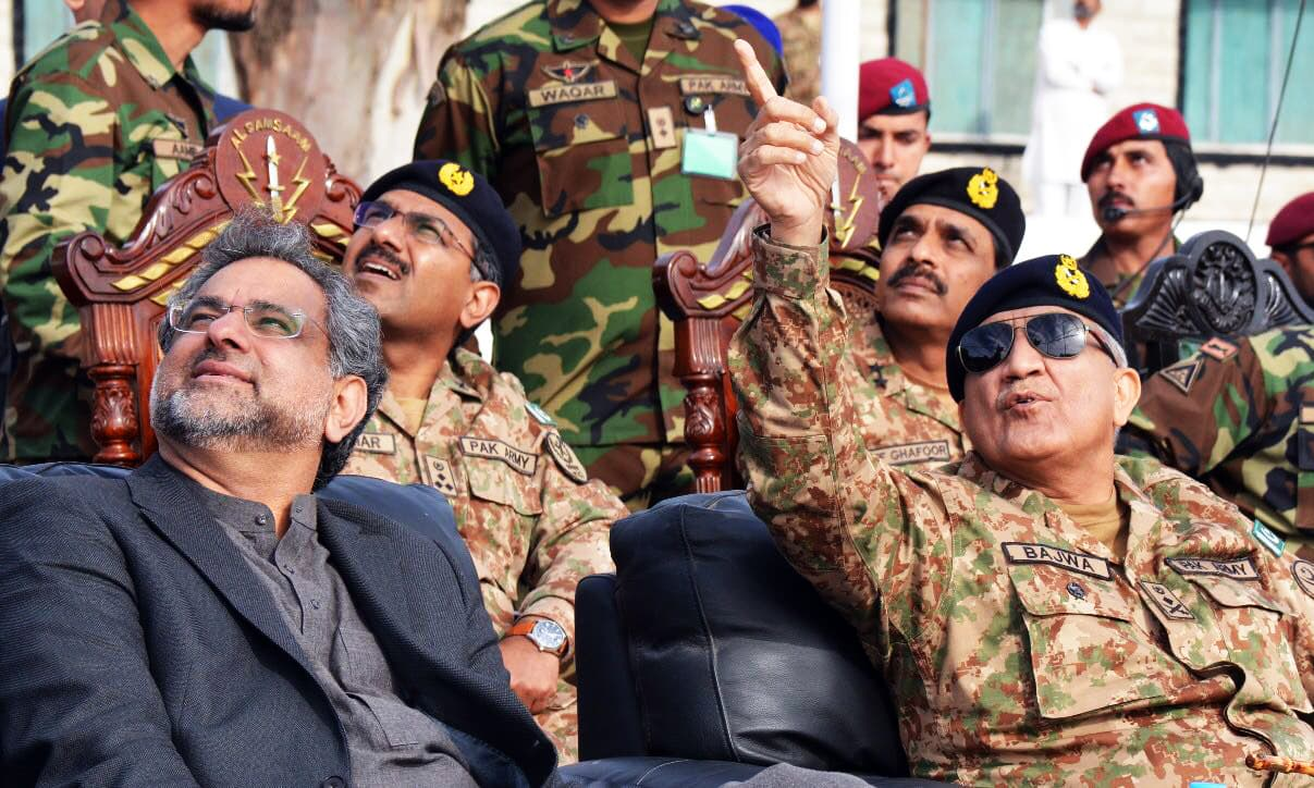 SSG troops then demonstrated their skills and operational capabilities. —ISPR