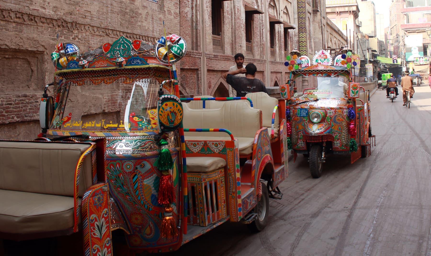 اندرون شہر لاہور —تصویر عبیداللہ کیہر