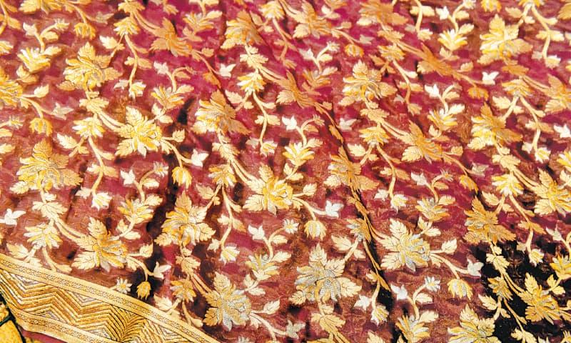 The Banarasi sari.  / Photos by Fahim Siddiqi / White Star