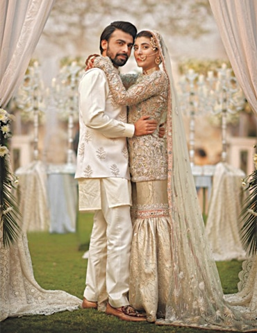 Urwa Hocane and Farhan Saeed wedding
