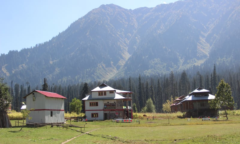 A view of Arang Kel, one of the most picturesque tourist spots in Kashmir