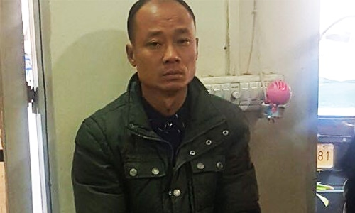 Chinese national Xu Zhuping arrested for suspected ATM fraud in Karachi. ─ Photo by author
