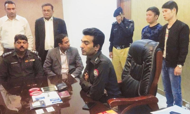 4 Chinese nationals arrested in another ATM skimming incident in Karachi