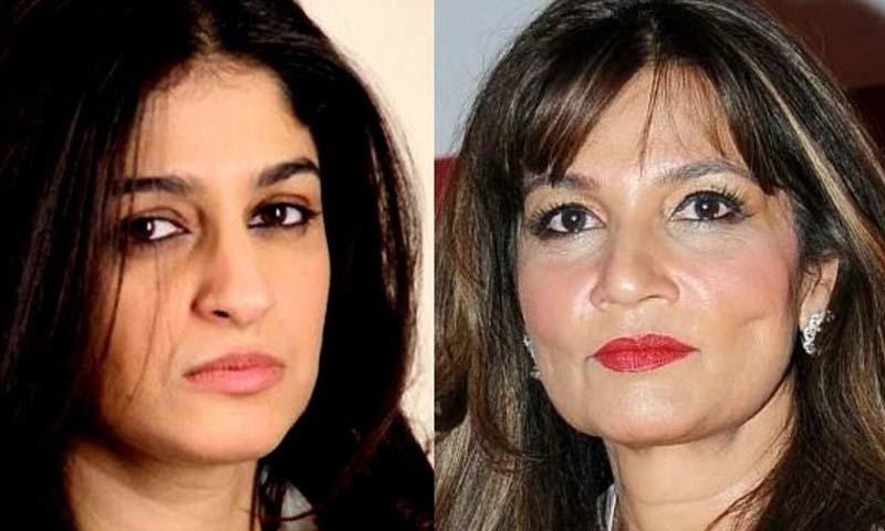 نادیہ جمیل اور فریہا الطاف نے اپنے ٹوئٹر اکاؤنٹ پر6 سالہ زینب کے لیے انصاف کی آواز بھی اٹھائی —۔