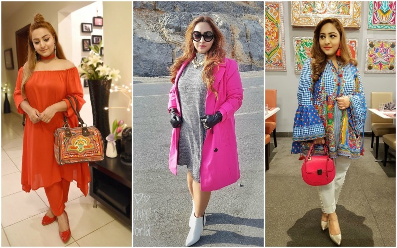 Gul E Zahra doesn't let her body type affect her work as a fashion blogger