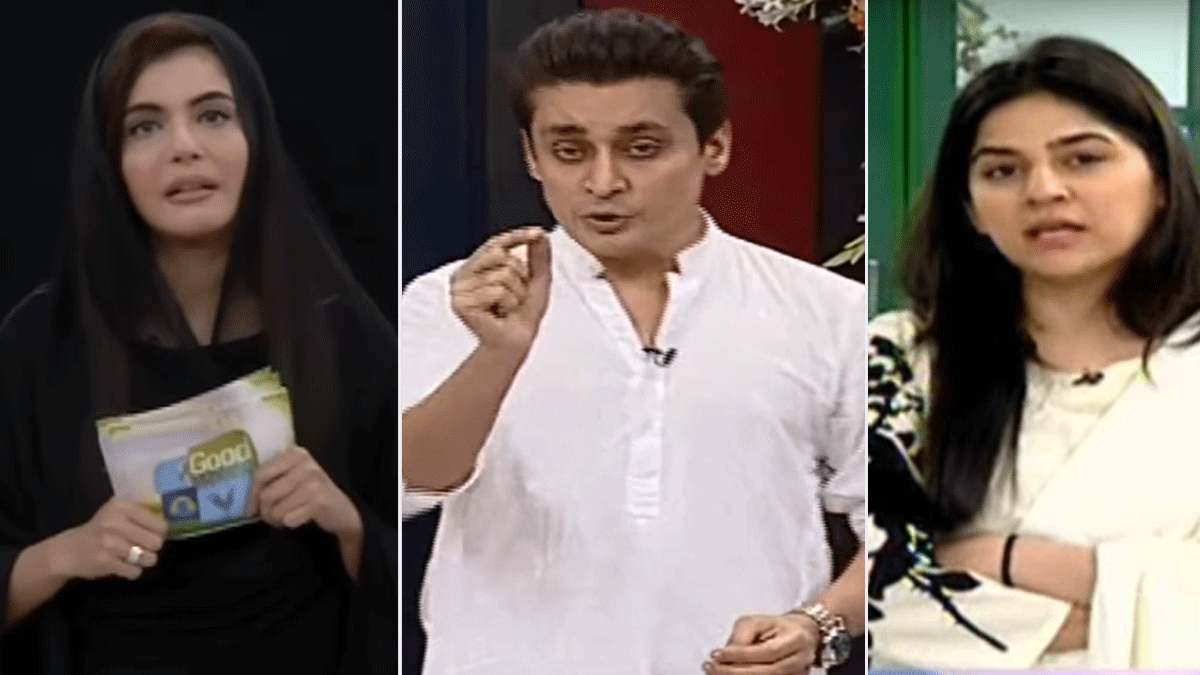 How did Pakistani morning shows address Zainab's rape and murder?