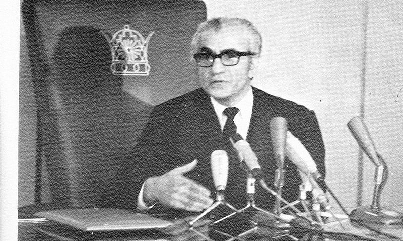 محمد رضا شاہ پہلوی، شہنشاہ ایران۔