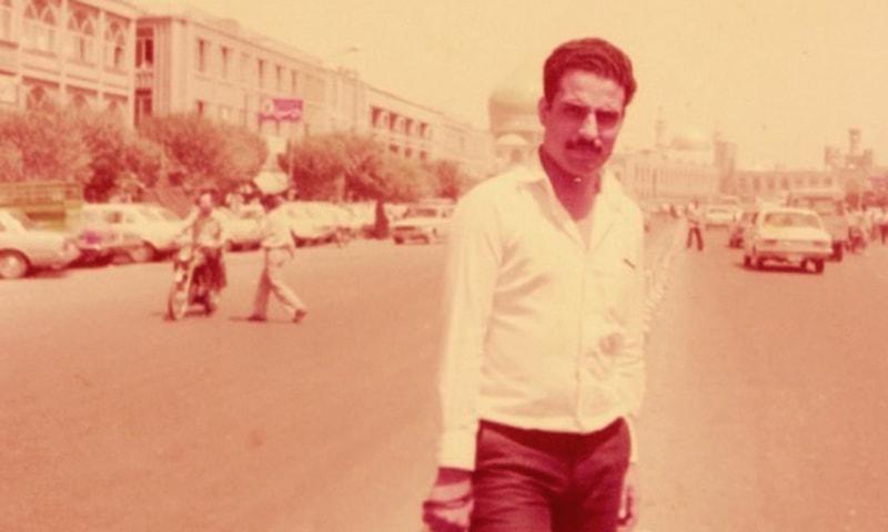 انقلاب کے عروج کے دنوں میں لکھاری ایران میں—تصویر فرخ سہیل گوئندی