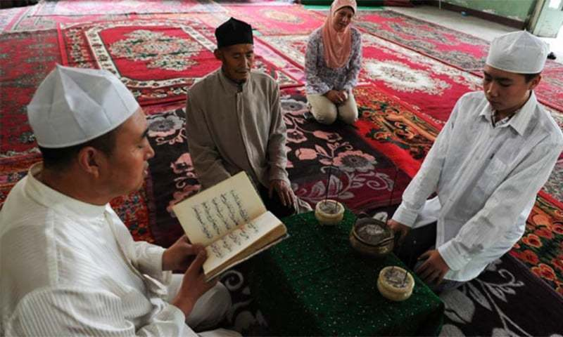 Chinese county allegedly bans children from going to mosques