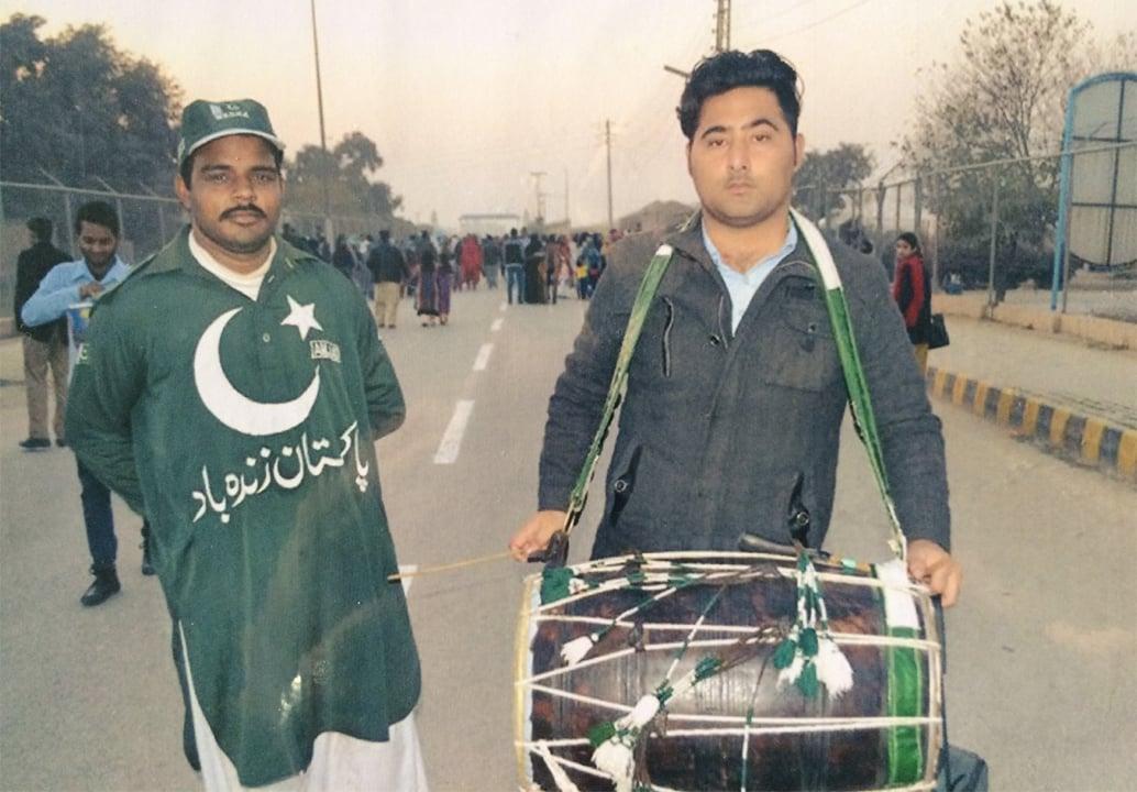 Mashal Khan at Pakistan Day celebrations   Photos courtesy Mashal Khan's family
