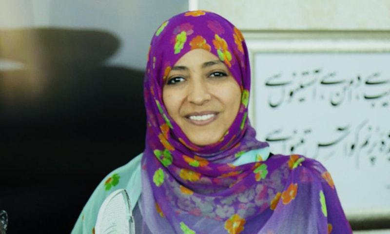 نوبیل انعام یافتہ خاتون صحافی توکل کرمان