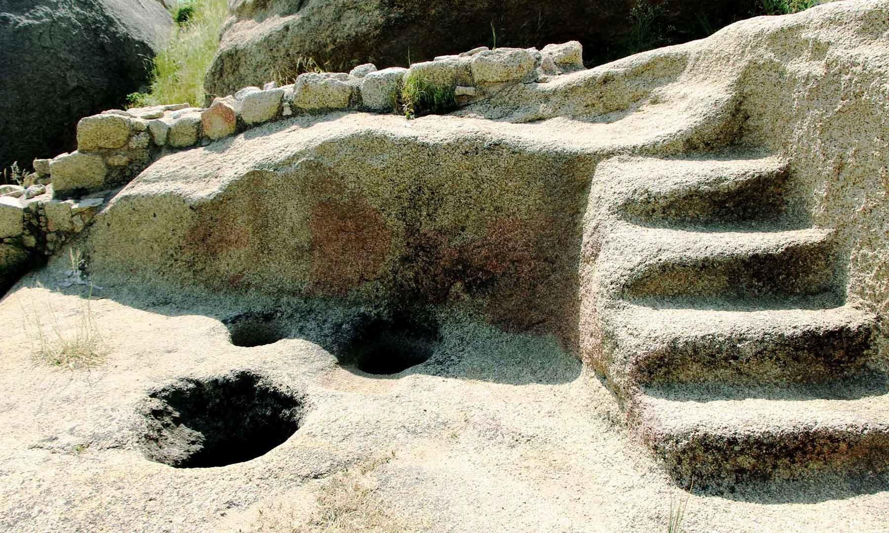 رانی کے محل میں موجود لنگر کے آثار—تصویر امجد علی سحاب