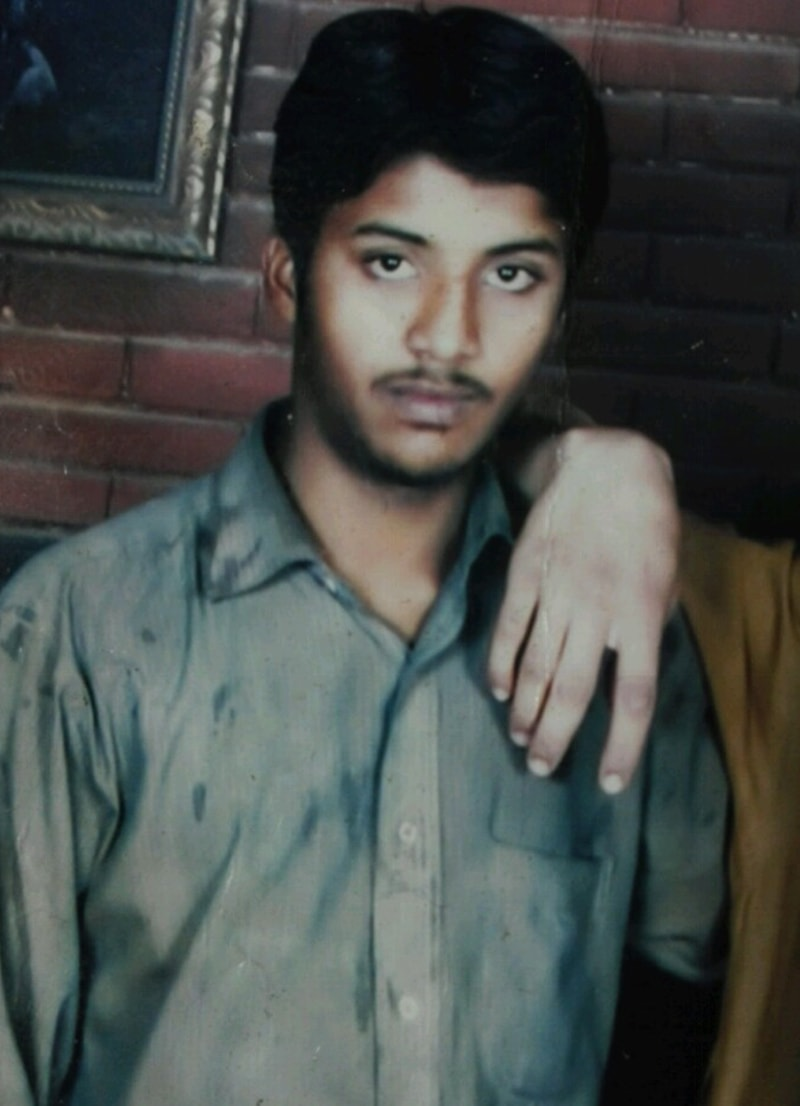 A photo of Mudassir provided by his family.
