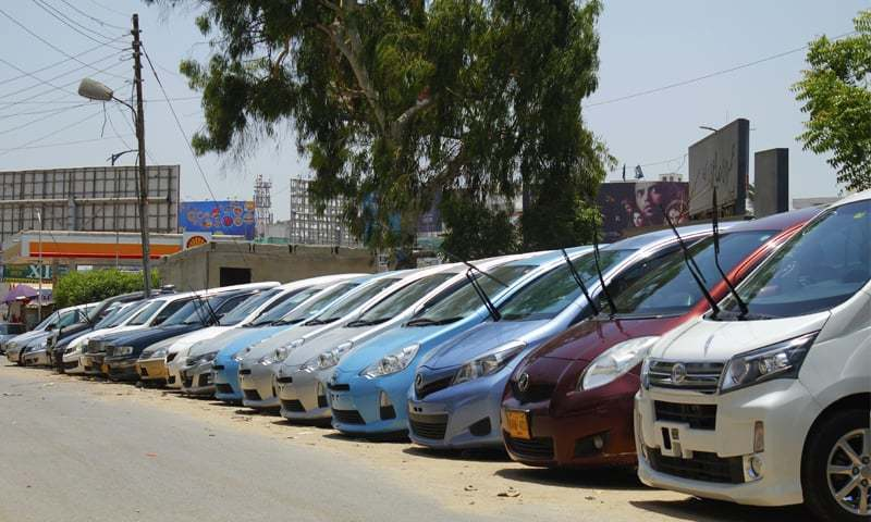 Imports of used cars in Pakistan jump 70pc