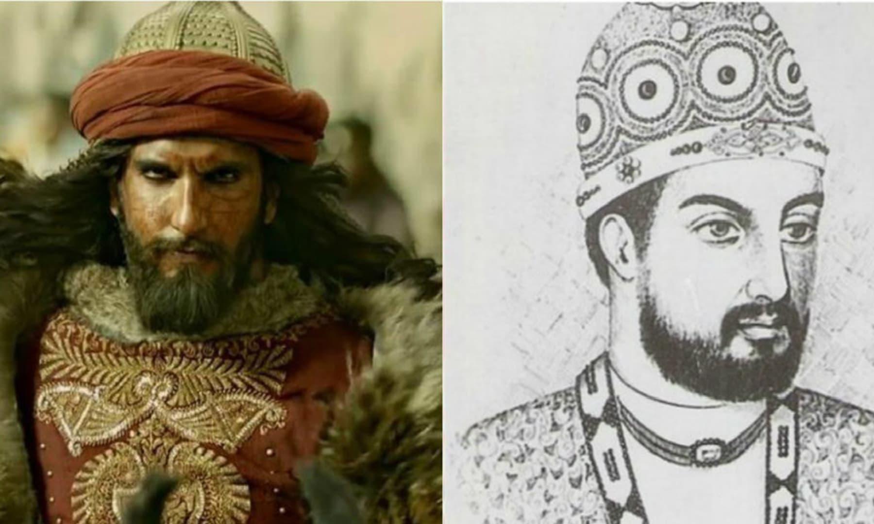 فلم پدماوت میں خلجی کا کردار نبھانے والے رنویر سنگھ