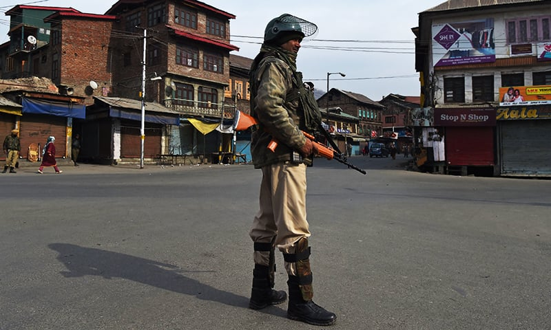 Strike shuts held Kashmir after Indian soldiers kill 2 civilians