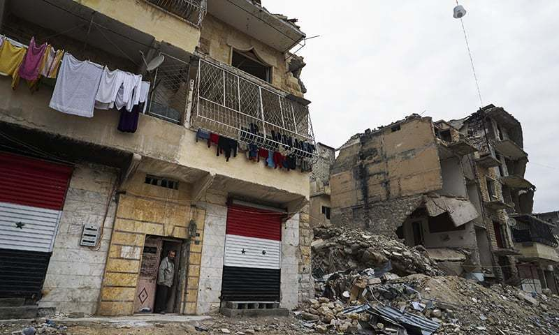 Syria as a punching bag