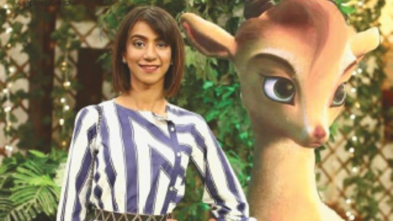 Singer Natasha Humaira Ejaz lends her voice to the character of Mehru, the adorable little markhor