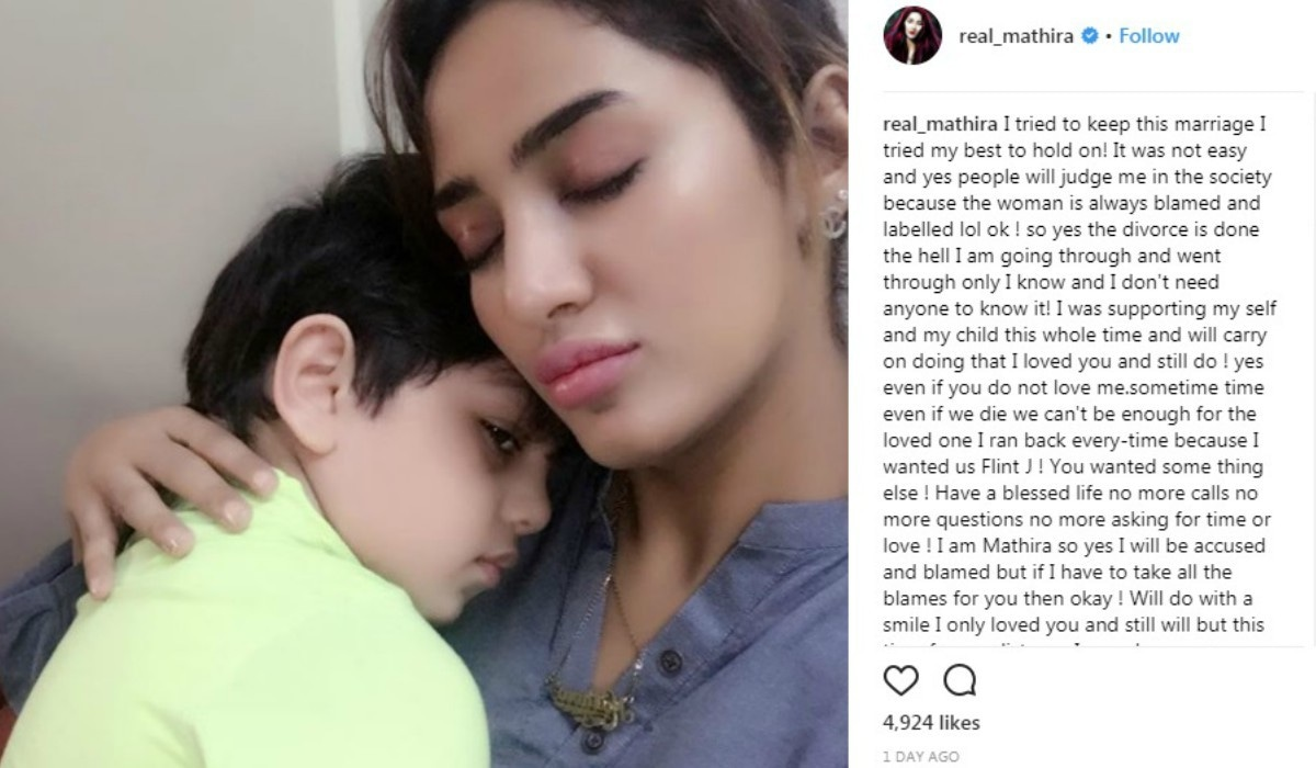 Mathira shares break-up letter on Instagram following
