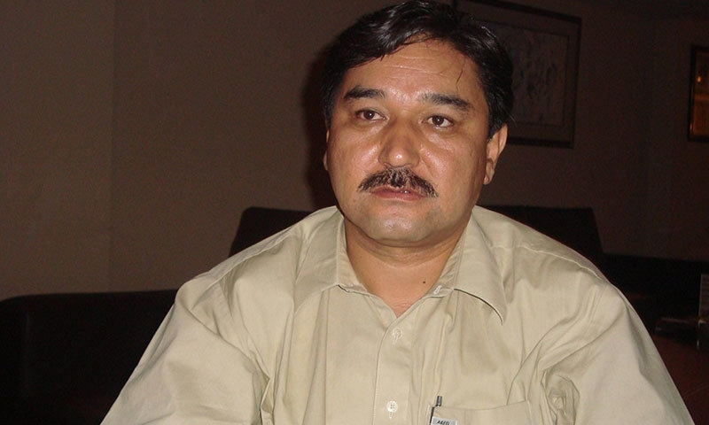 Abdul Khaliq Hazara, Secretary-General of the Hazara Democratic Party (HDP). — Photo by Qurat ul ain Siddiqui